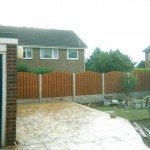 fencing and paving